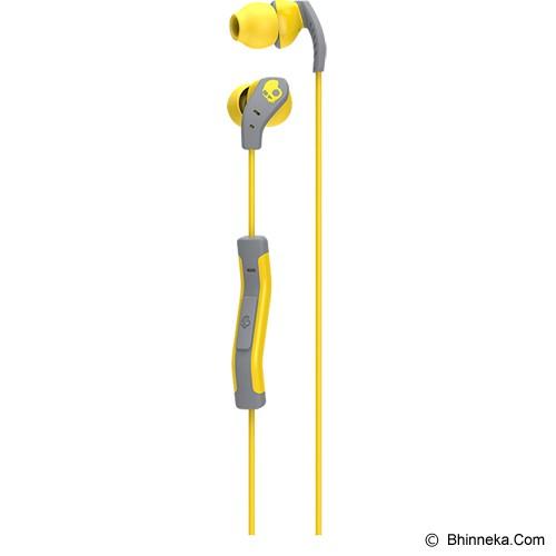 SKULLCANDY SC METHOD  W/ Mic 1 [S2CDGY-411] - Yellow / Grey - Earphone Ear Monitor / Iem